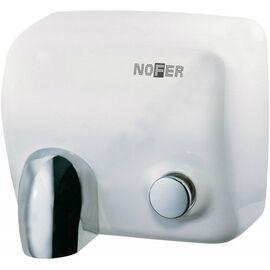 Фото 3581: Cушилка для рук Nofer CYCLON 2450 W 01100.W белая с кнопкой