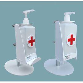 Фото 2494: Настольный дозатор для антисептика  с каплесборником   1  литр