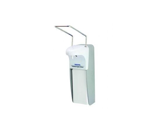 Фото 298: Saraya MDS-500A дозатор локтевой, алюминий антисептик + мыло