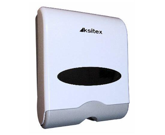 Фото 7754: Диспенсер для листовых полотенец Z- сложения Ksitex TH-603W
