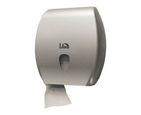 Фото 4556: Диспенсер д/туалетной бумаги Lime  Kompatto 200м серый (А 83255SAS)