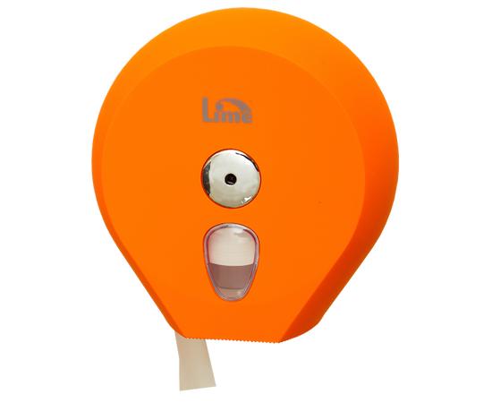 Фото 1370: Диспенсер д/туалетной бумаги Lime 200м оранжевый (915203)