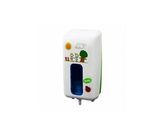 Фото 5491: Дозатор Saraya UD-9000CW детская серия, белый, сенсор. для антисептика