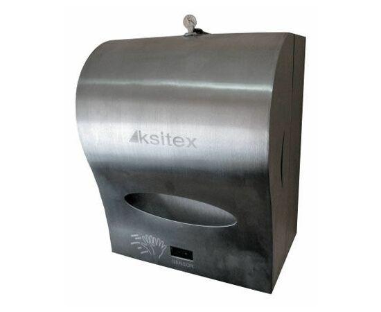 Фото 100: Ksitex A1-21M для рулонных полотенец автоматическая подача (матовый)