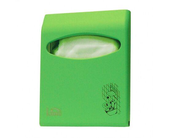 Фото 94: Диспенсер д/покрытий на унитаз Lime Color mini зелёный (А 66210VES)