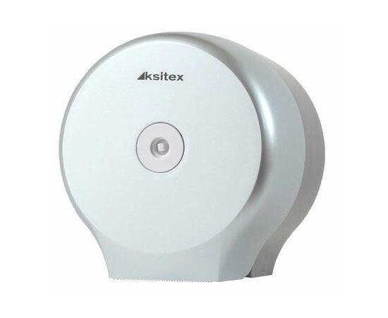 Фото 7035: Диспенсер Ksitex TH-8127F для туалетной бумаги СЕРЕБРО