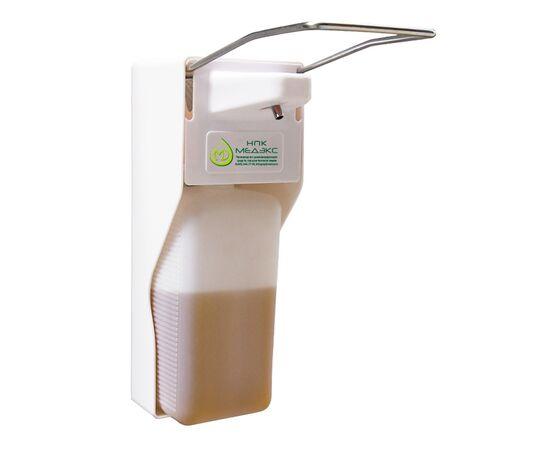 Фото 3578: Дозатор локтевой ДМП  «НПК Медэкс» для антисептика, жидкого мыла , геля-антисептика