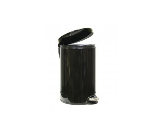 Фото 4181: Корзина для мусора с педалью Lux, 20 литров черная