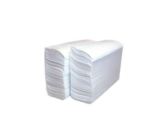 Фото 9756: Бумажные полотенца в листах Z-сл. BINELE L-Lux, двухслойные, белые