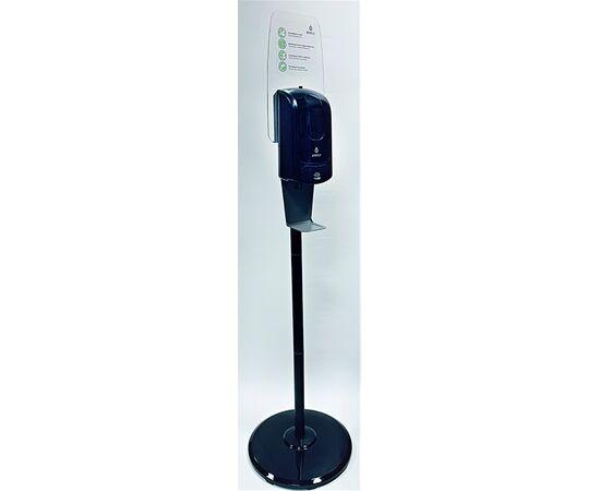 Фото 5489: SF05AB (Комплект мобильной стойки с сенсорным диспенсером BINELE для картриджей (черная)